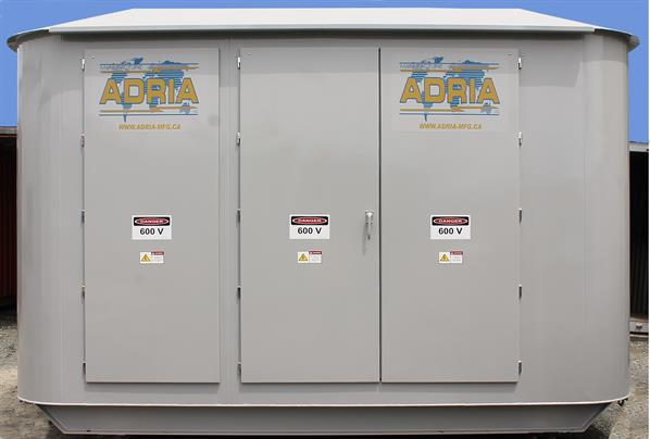 Electric distribution cabinet for parks and municipalities